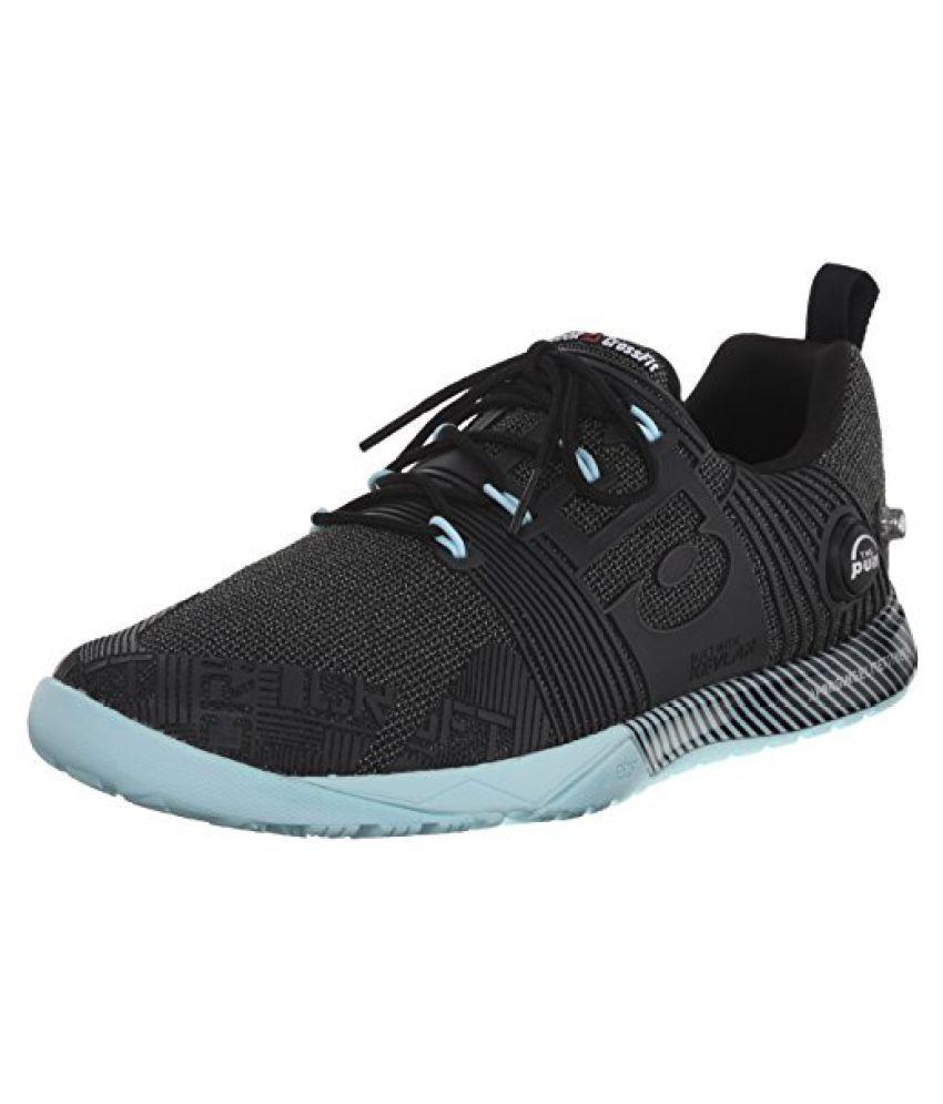Reebok Women s RCF Nano Pump Fusion Training Shoe Black/Cool Breeze 6 B(M) US