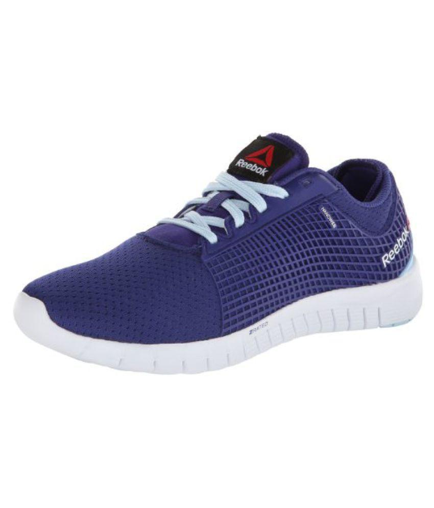 Reebok Women s ZQuick Running Shoe Violet/Dream Blue/White 7.5 B(M) US