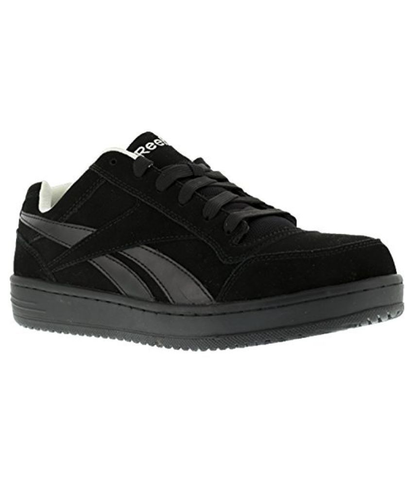 Reebok Work Men s Soyay RB1910 Skate Style EH Safety Shoe Black 11.5 D(M) US