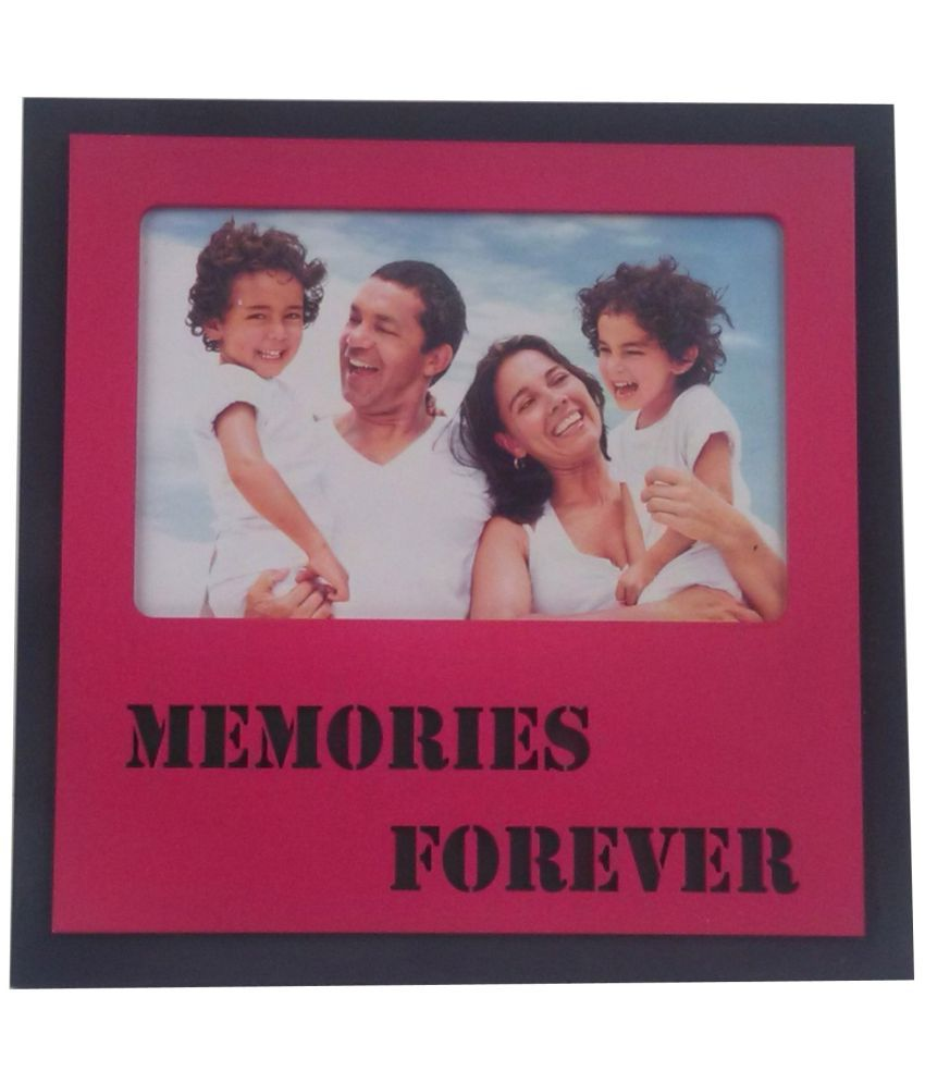 Fabionic MDF TableTop Red Single Photo Frame