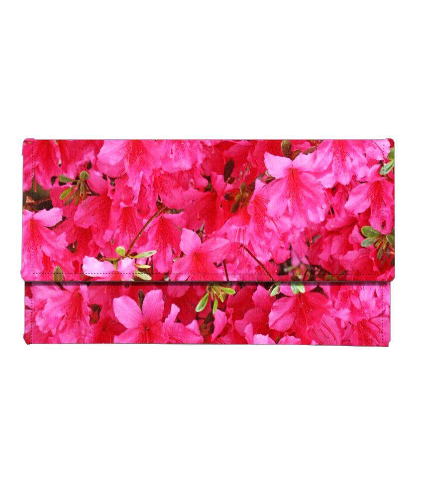 Mukesh Handicrafts Pink Wallet