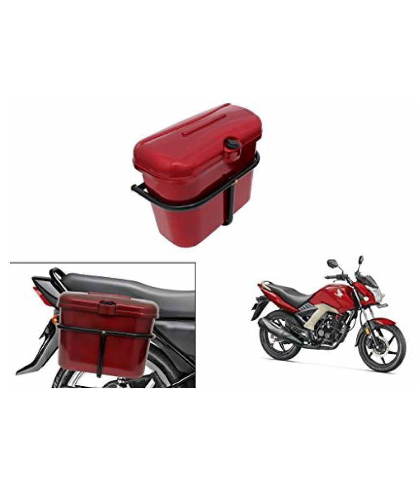 Speedwav Bike SLB-1 Side Luggage Box Red-Honda Unicorn 160