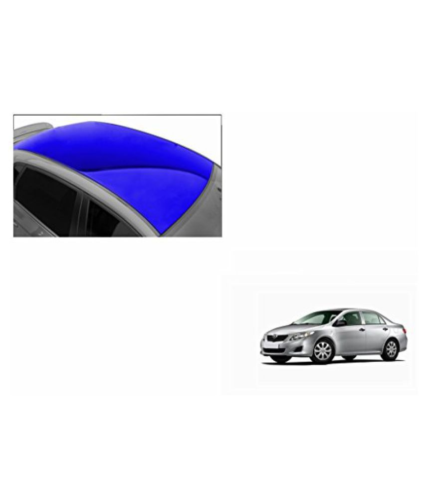 Speedwav Car Roof Glossy Wrap Sheet Blue-Toyota Corolla Type 2 (2009-2012)