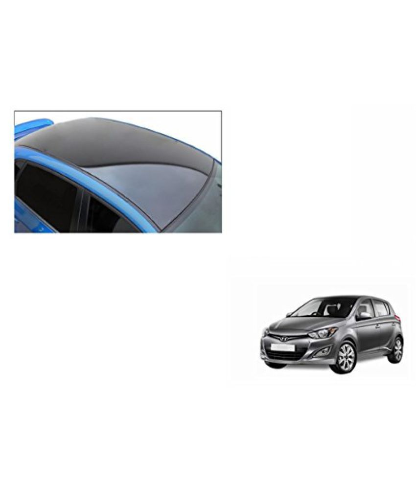 Speedwav Car Roof Wrap Sheet Glossy Black-Hyundai i20 Type 2 (2013-2014)