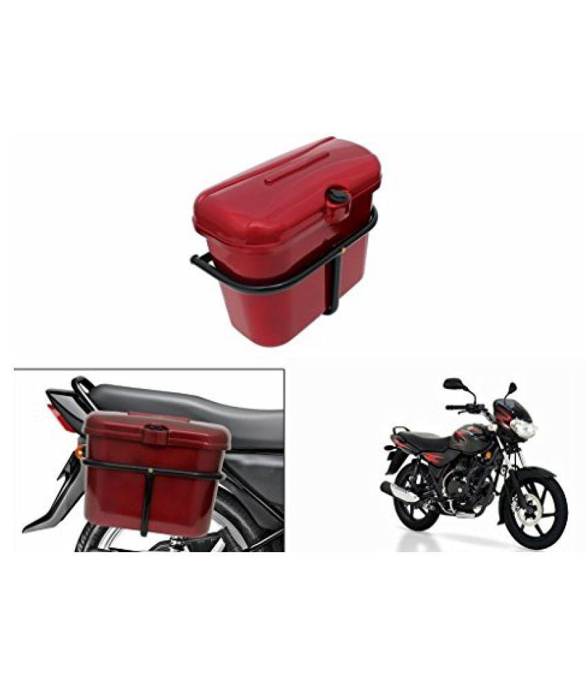 Speedwav Bike SLB-1 Side Luggage Box Red-Bajaj Discover 125 DTS-i