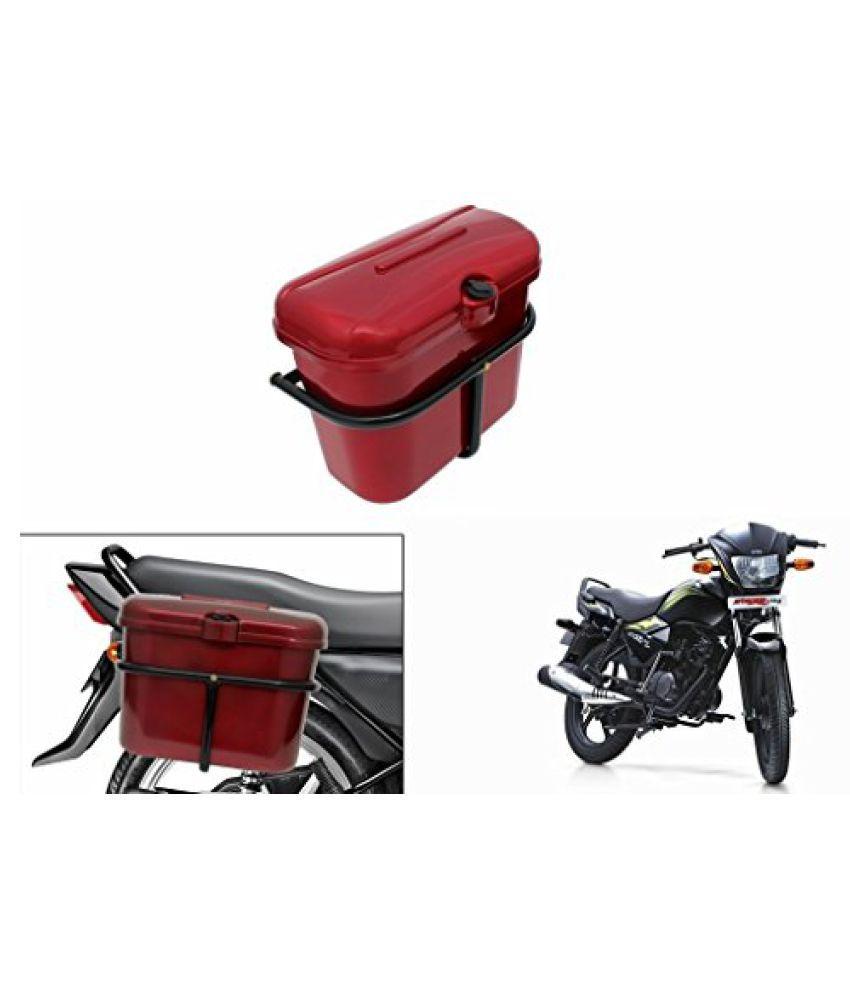 Speedwav Bike SLB-1 Side Luggage Box Red-TVS Star City