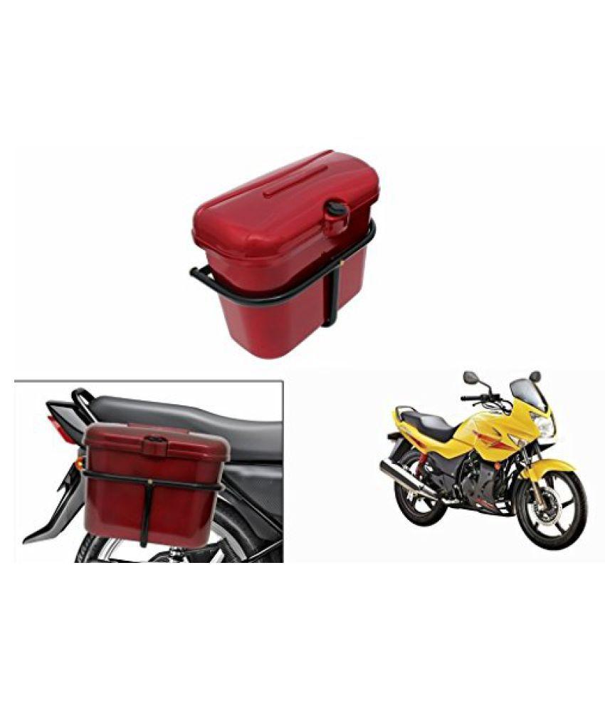 Speedwav Bike SLB-1 Side Luggage Box Red-Hero Karizma