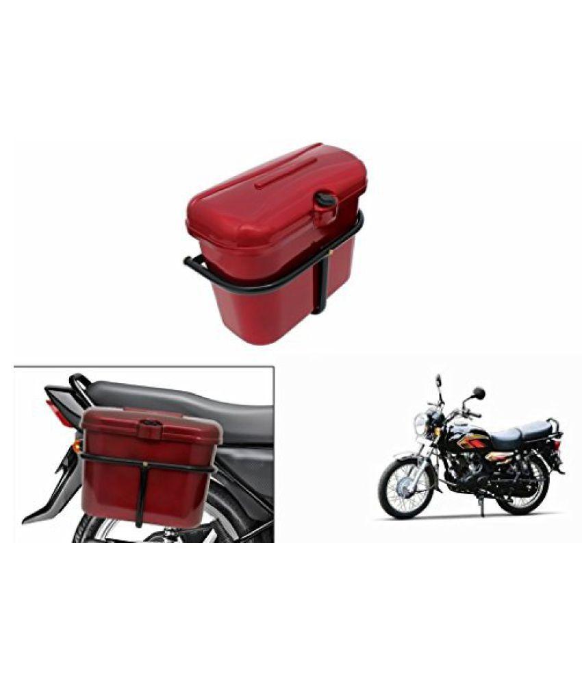 Speedwav Bike SLB-1 Side Luggage Box Red-TVS Max 4R