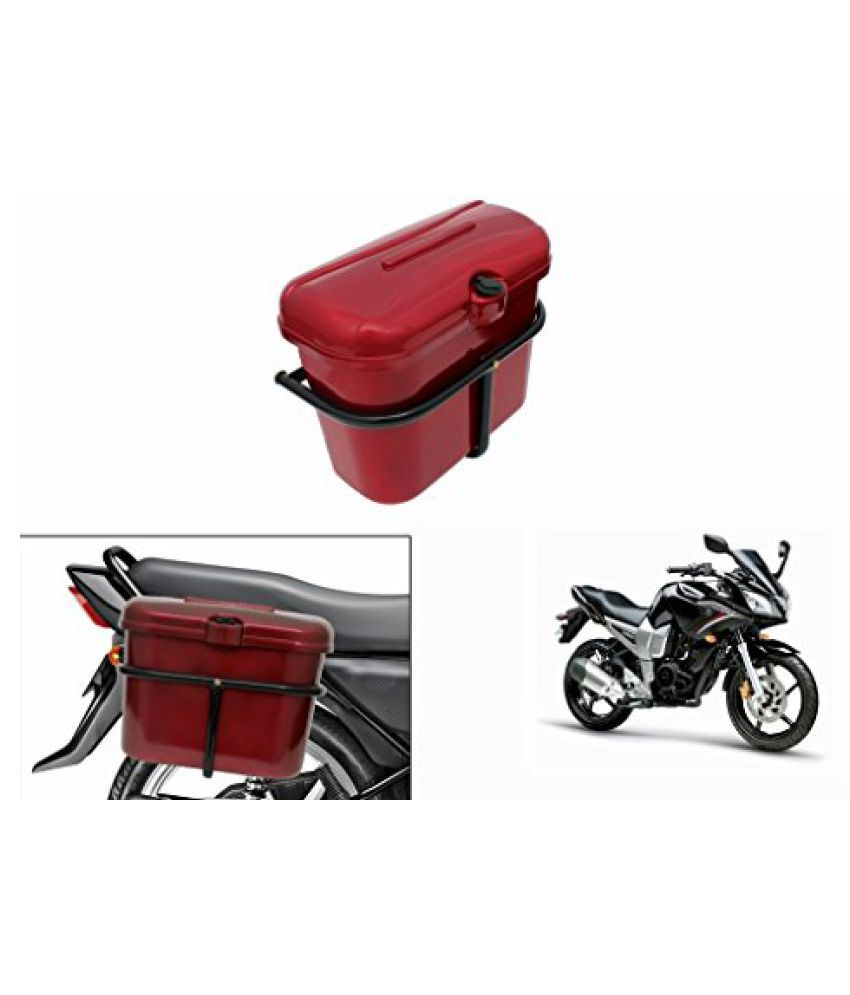 Speedwav Bike SLB-1 Side Luggage Box Red-Yamaha Fazer