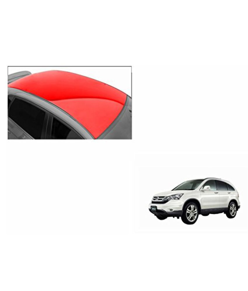 Speedwav Car Roof Glossy Wrap Sheet Red-Honda CRV Type 3 (2007-2009)