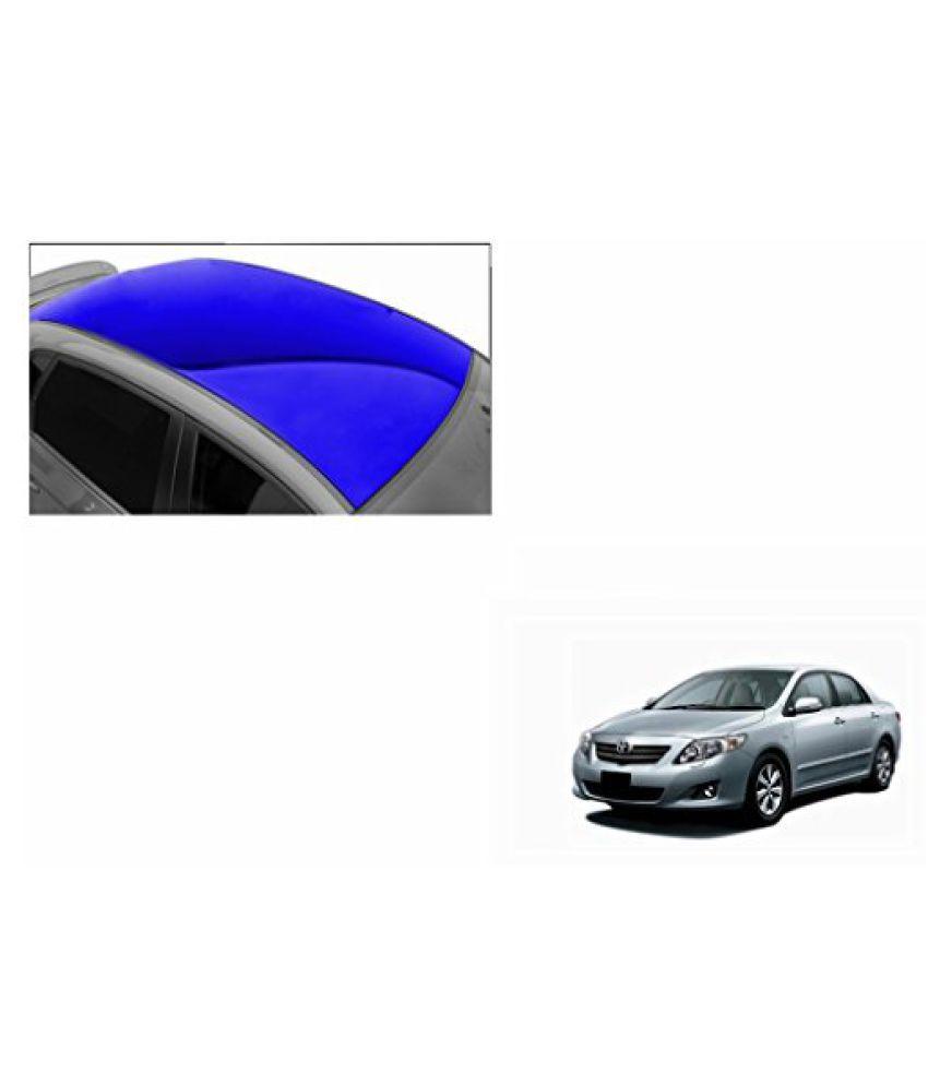 Speedwav Car Roof Glossy Wrap Sheet Blue-Toyota Corolla Altis Type 1 (2012-2013)