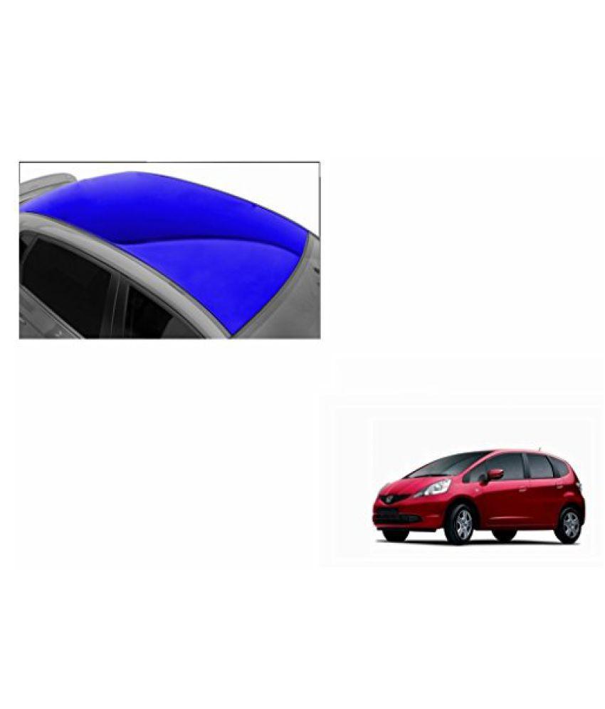 Speedwav Car Roof Glossy Wrap Sheet Blue-Honda Jazz Type 1 (2009-2010)