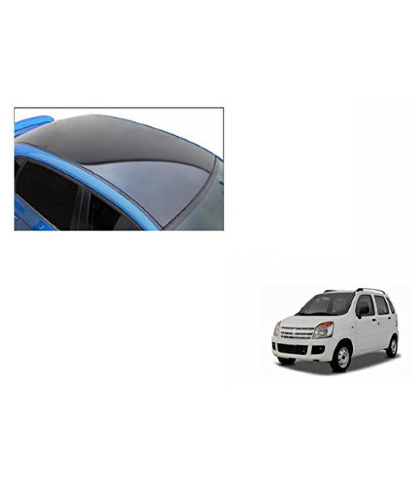 Speedwav Car Roof Wrap Sheet Glossy Black-Maruti WagonR Type 2 (2003-2007)