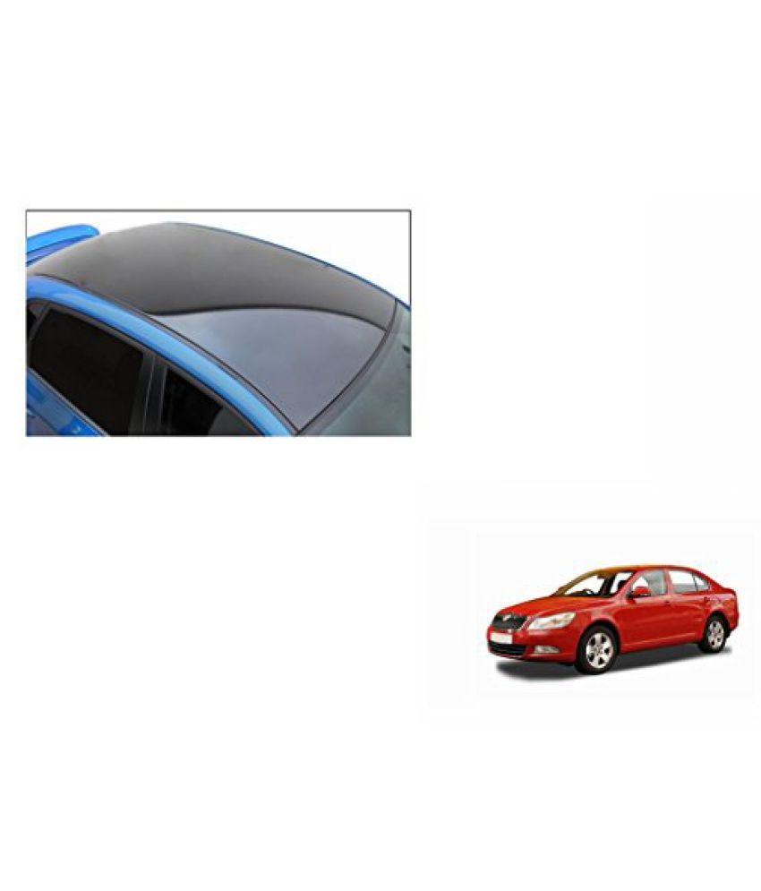 Speedwav Car Roof Wrap Sheet Glossy Black-Skoda Laura Type 2 (2014-2015)