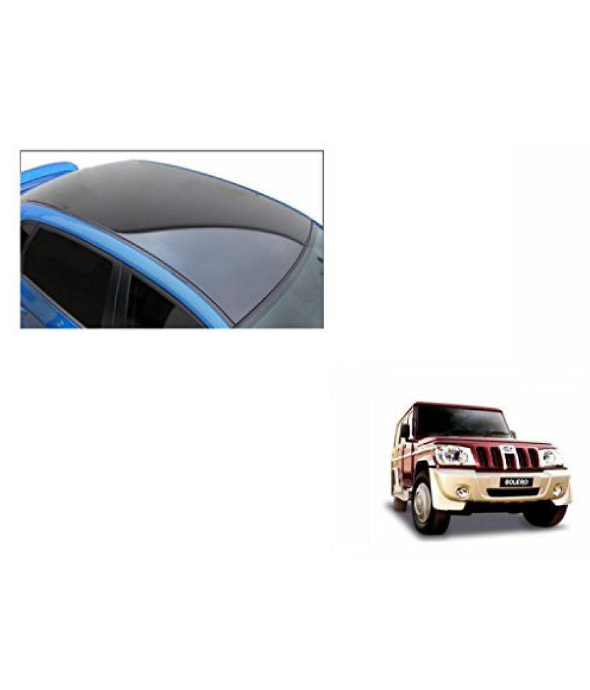 Speedwav Car Roof Wrap Sheet Glossy Black-Mahindra Bolero Type 1 (2001-2007)