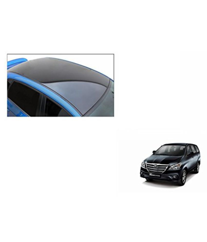 Speedwav Car Roof Wrap Sheet Glossy Black-Toyota Innova Type 4 (2014-2015)