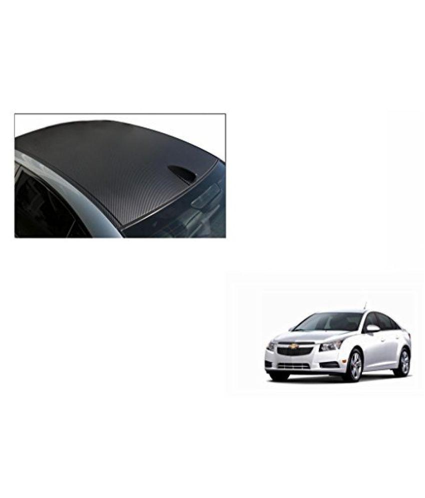 Speedwav Car Roof Wrap Sheet Carbon Design Matt Black-Chevrolet Cruze Type 1 (2009-2014)