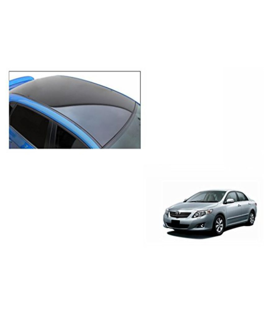 Speedwav Car Roof Wrap Sheet Glossy Black-Toyota Corolla Altis Type 1 (2012-2013)