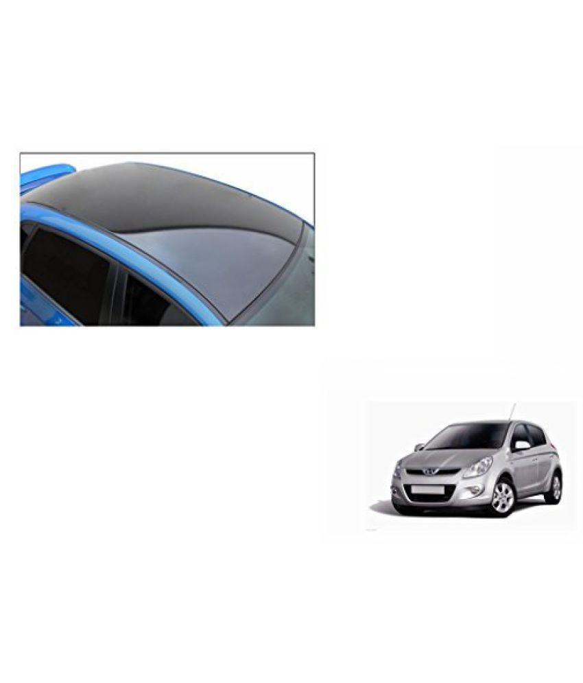 Speedwav Car Roof Wrap Sheet Glossy Black-Hyundai i20 Type 1 (2008-2013)