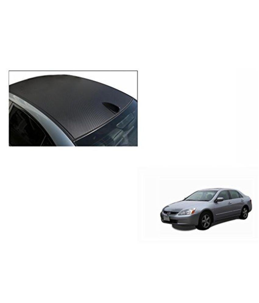 Speedwav Car Roof Wrap Sheet Carbon Design Matt Black-Honda Accord 2.4 Type 2 (2007-2009)