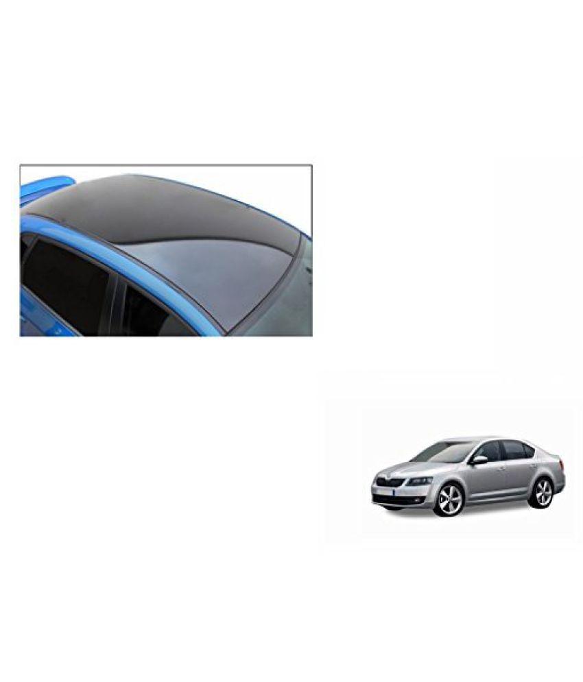 Speedwav Car Roof Wrap Sheet Glossy Black-Skoda Octavia Type 2 (2013-2015)