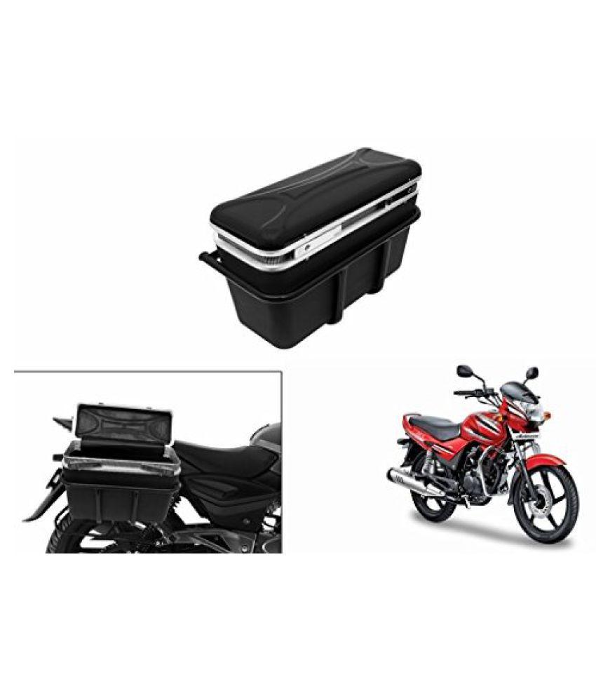 Speedwav DLB-1 Bike Double Lock Luggage Box Black-Hero Achiever
