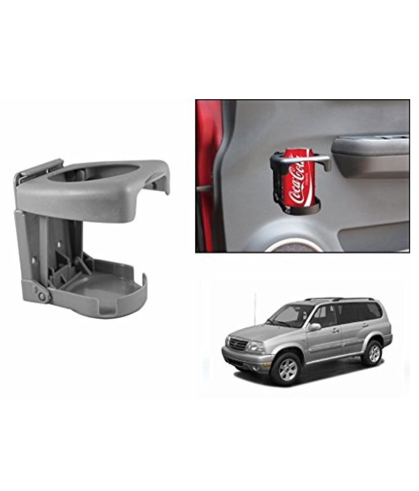 Speedwav Foldable Car Drink Holder Grey-Maruti Grand Vitara XL-7