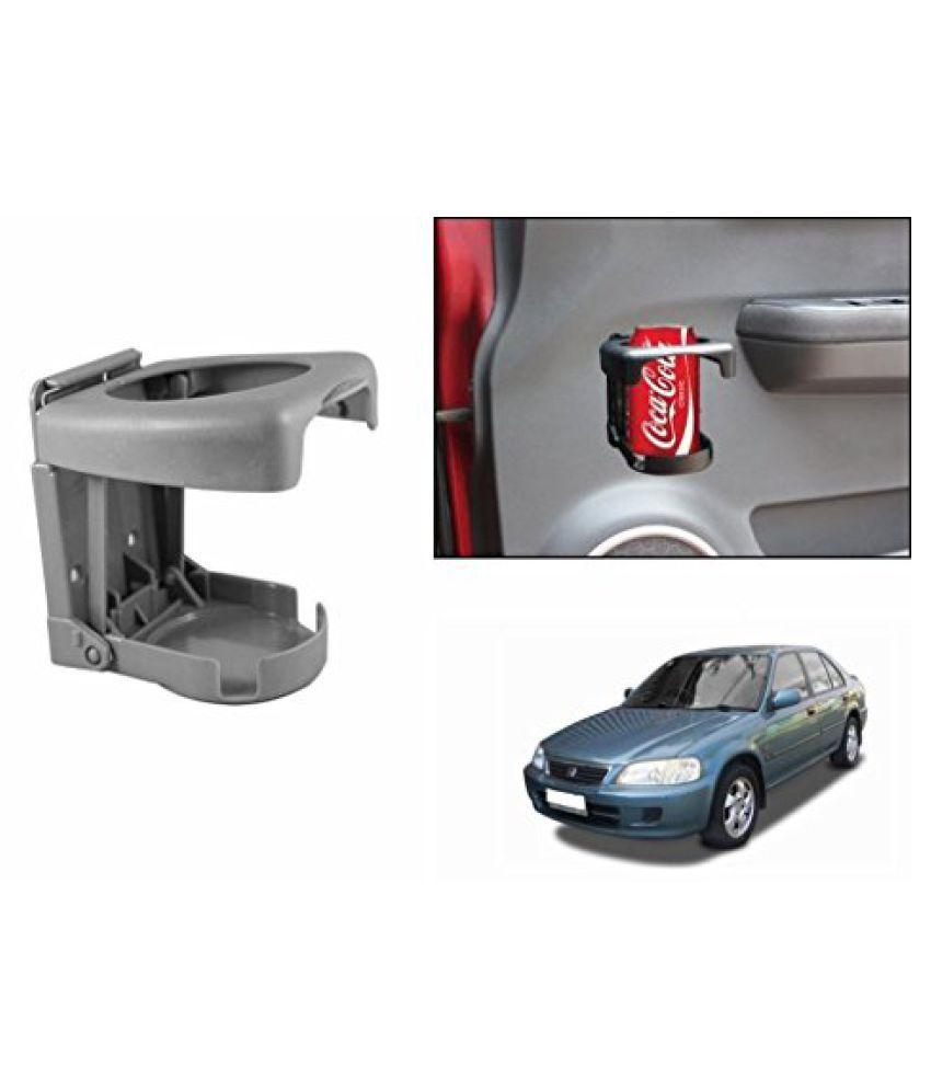 Speedwav Foldable Car Drink Holder Grey-Honda City 1.3/1.5 Type 2 (2002-2005)
