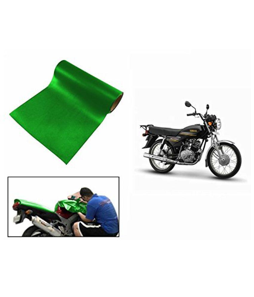 Speedwav Matt Green 3 Meter Bike Wrap Sheet-Yamaha Crux
