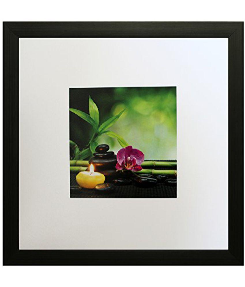 SAF Textured Print with UV Framed Reprint Painting (SANFO611, 20 cm x 3 cm x 30 cm)