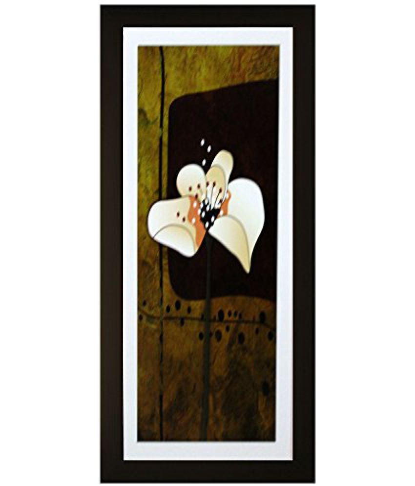 SAF Textured Print with UV Framed Reprint Painting (SANFO637, 15 cm x 3 cm x 38 cm)