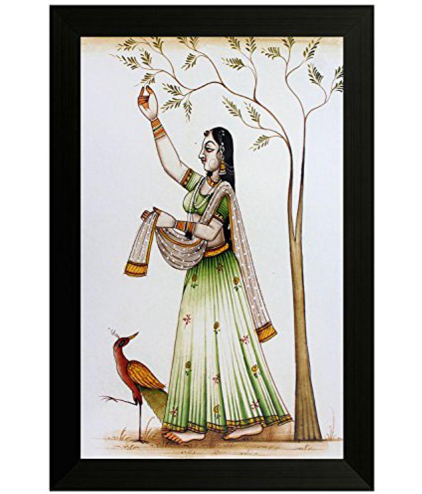 SAF Traditional Art Painting (SANFO06, 20 cm x 3 cm x 30 cm)