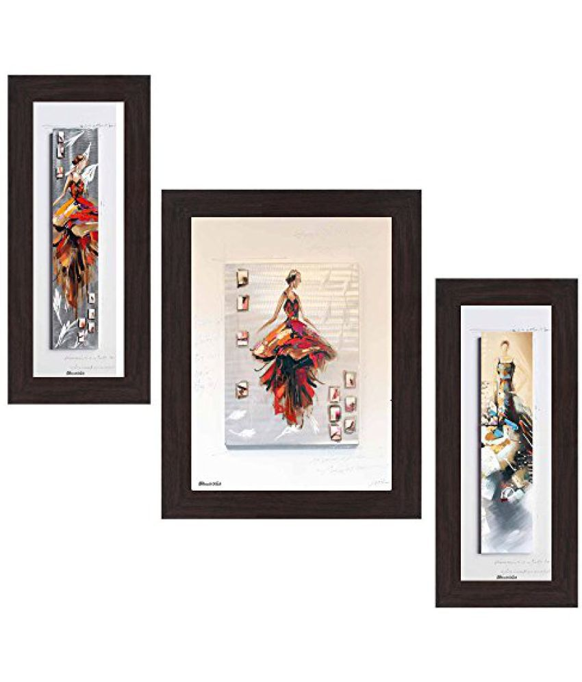 Wens 'Western Fashion' Wall Art (MDF, 29.5 cm x 24.5 cm, WSP-4323)