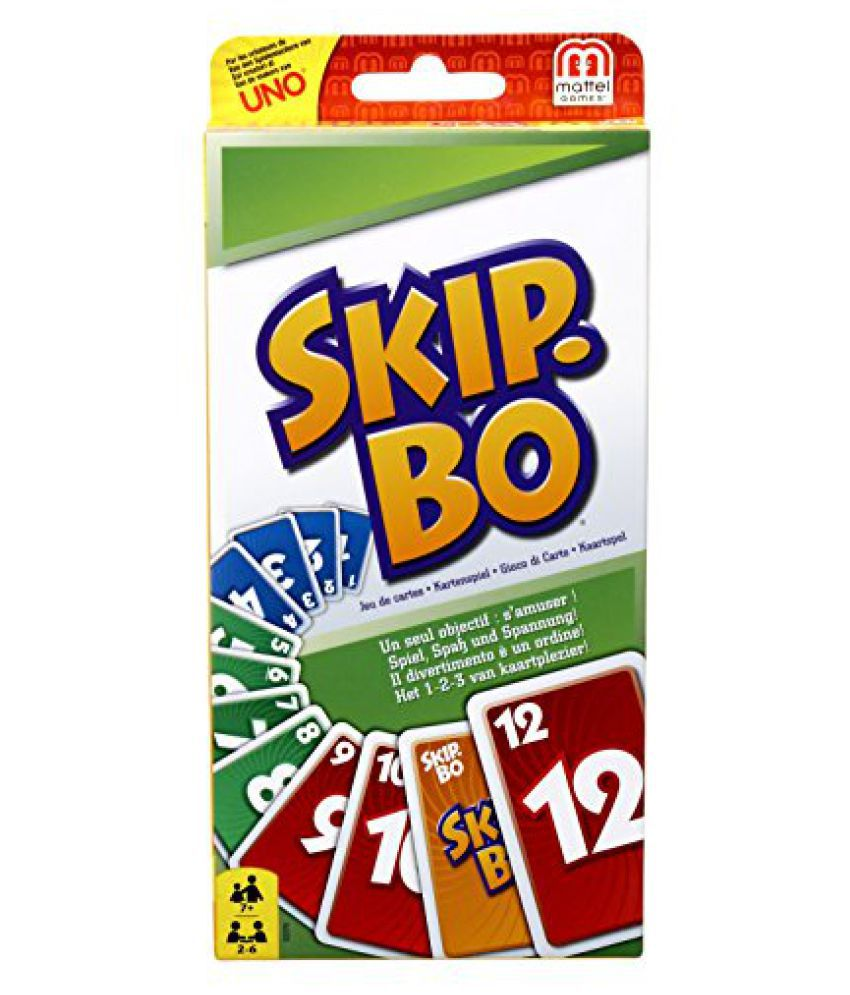 Game - Skip.Bo Card Game
