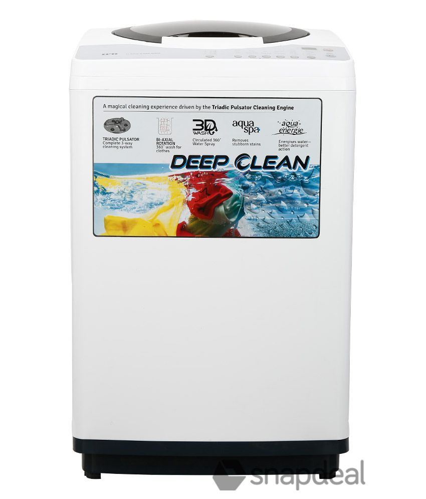 IFB 6.5 Kg TL  RDW Aqua Fully Automatic Top Load Washing Machine   Ivory White