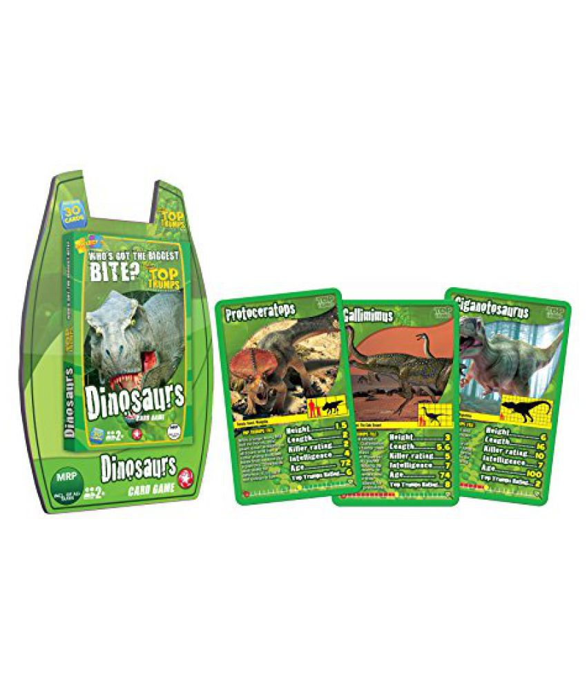 Top Trumps Deluxe Dinosaurs, Multi Color