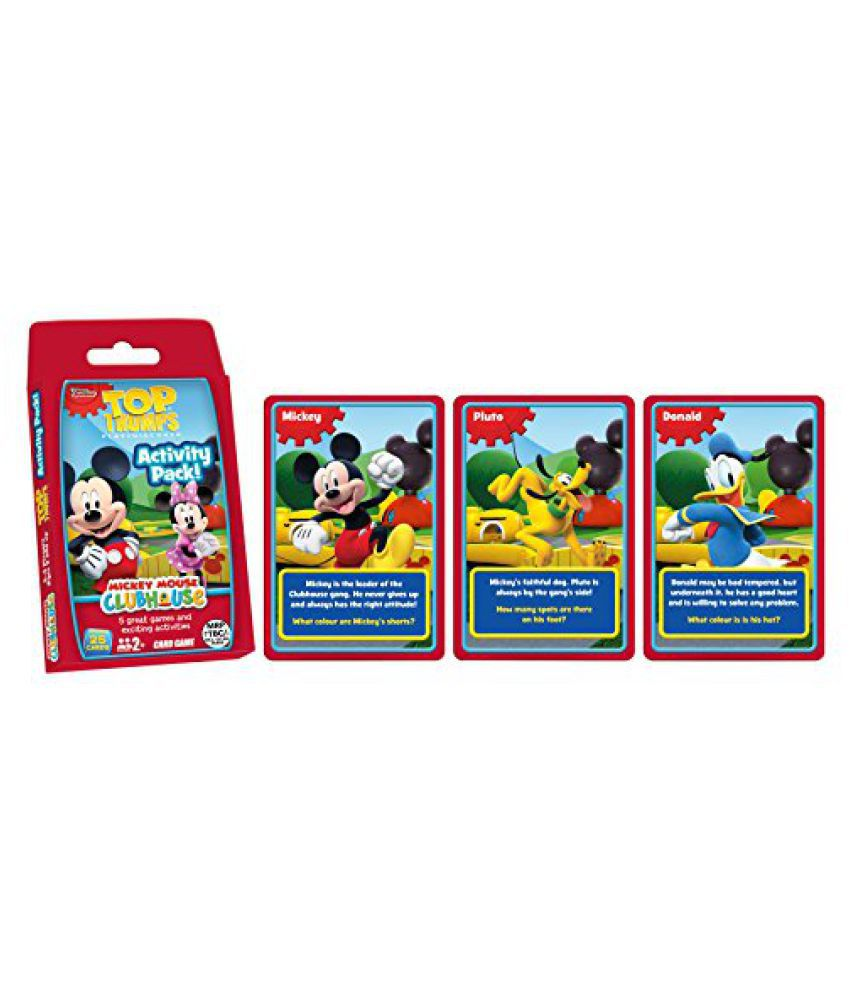 Top Trumps Mickey Mouse Clubhouse Activity Pack, Multi Color