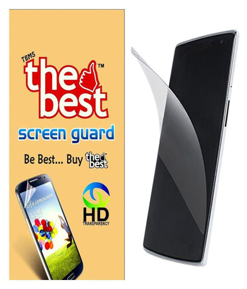 HTC One M7 Clear Screen Guard By The Best