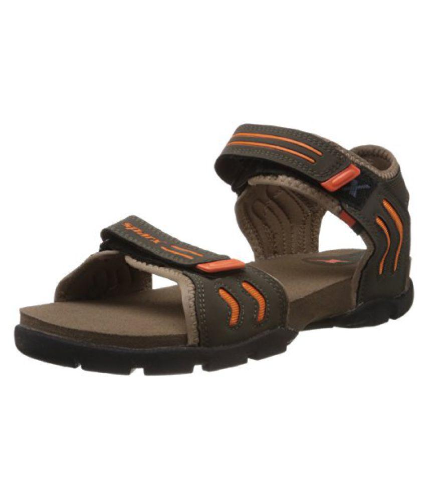 Buy Sparx Mens Olive Green Sandals