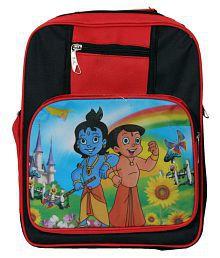 Rainbow Polyester Chota Bheem Kids School Bag BACKPACK -2
