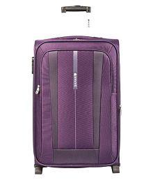Safari REVV Purple Small 2 Wheel Luggage Trolley