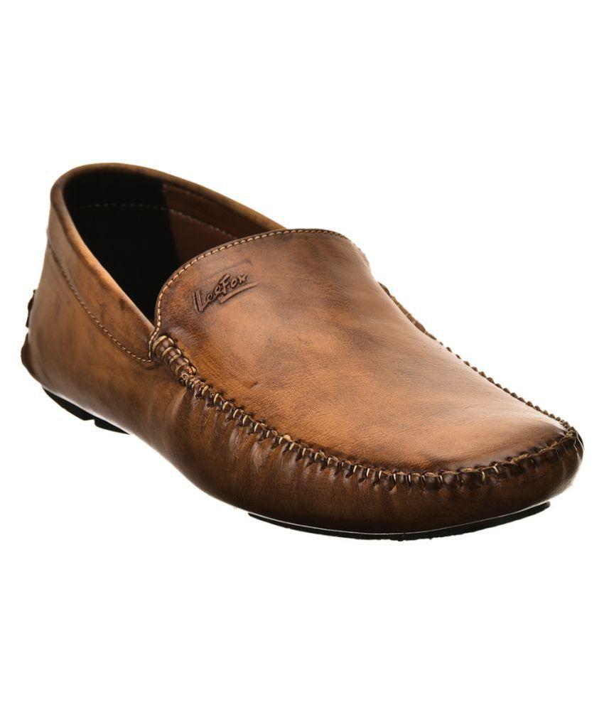 1916915938b Lee Fox Tan Loafers - Buy Lee Fox Tan Loafers Online at Best Prices in India  on Snapdeal