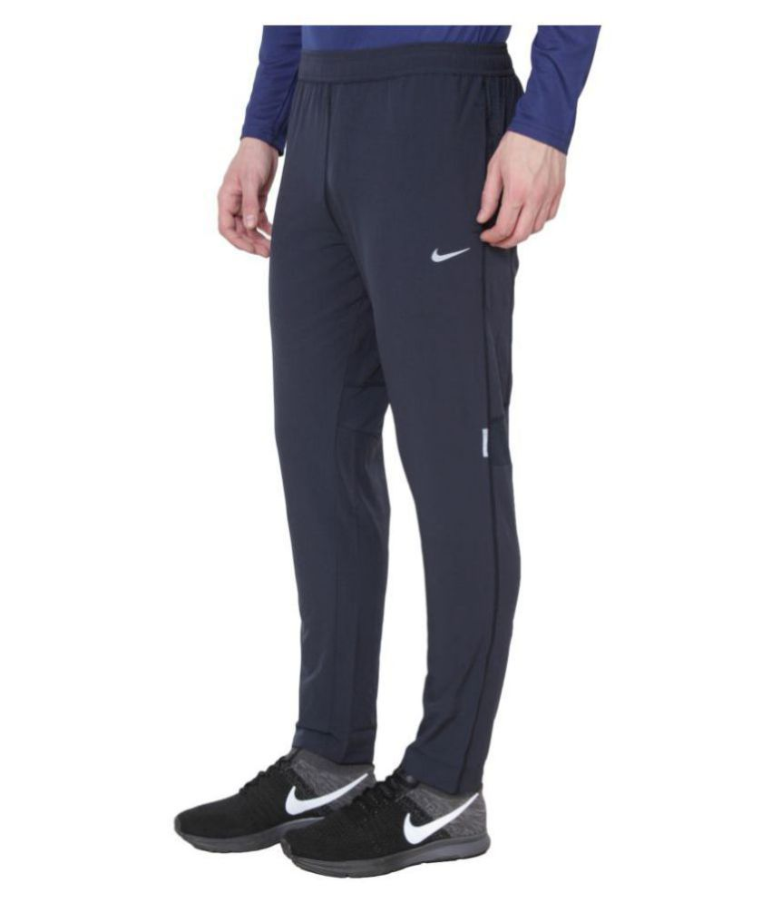 491ad9f815f Nike Navy Polyester Lycra Trackpants available at SnapDeal for Rs.784