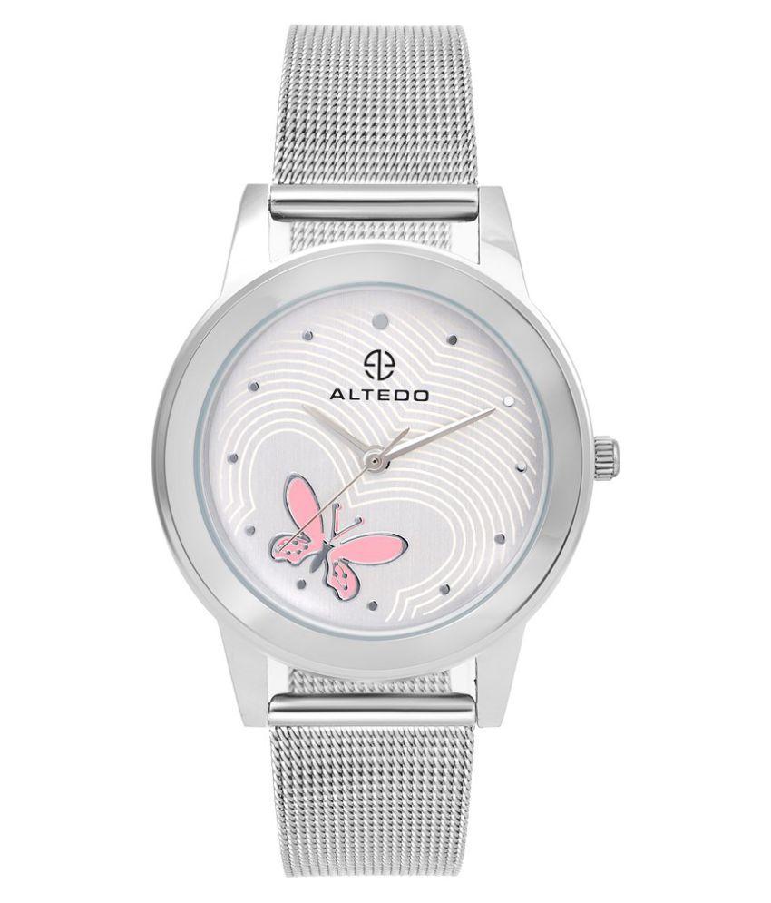 Altedo Silver Wrist Watch