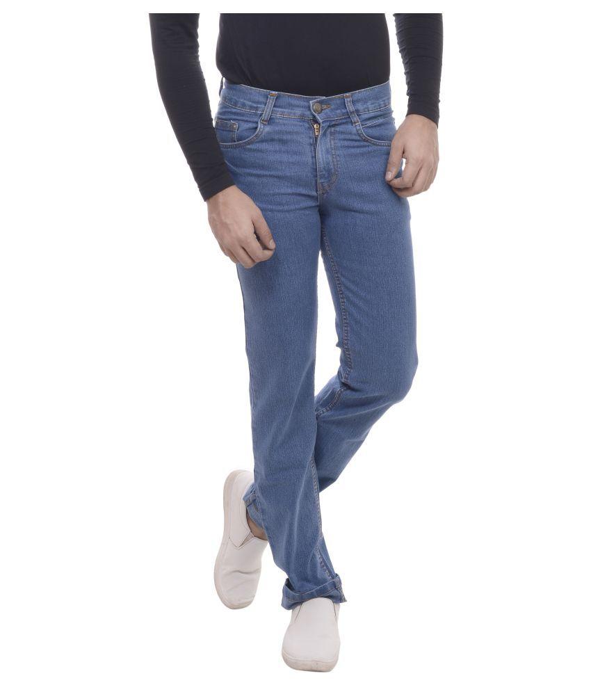 Carlsberry Blue Regular Fit Jeans