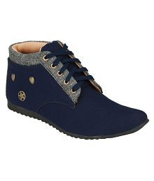 Aster Aster Blue Casual Shoes For Men Lifestyle Blue Casual Shoes