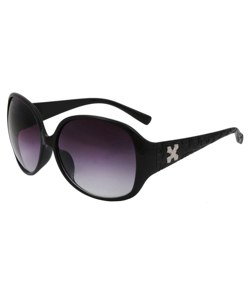 ESHTYLE Black Oversized Sunglasses ( ESWSHO005 )