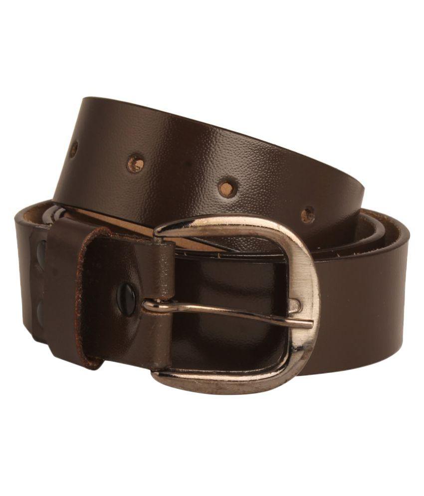 JOVIAL Brown PU Formal Belts