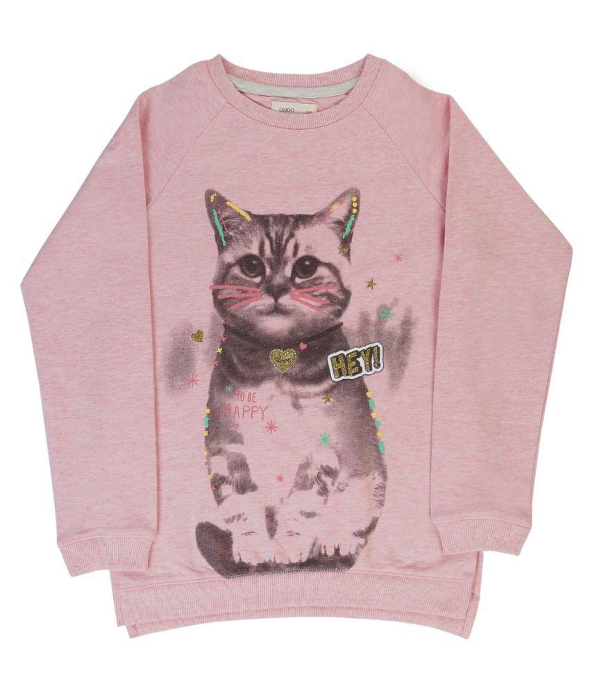Indirang Pink Sweat T-shirt