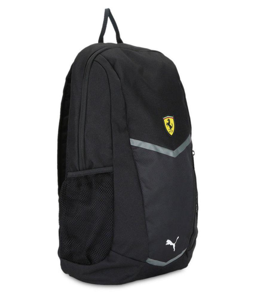 a14ccc91cec4 Puma Black Ferrari Fanwear Backpack Puma Black Ferrari Fanwear Backpack ...